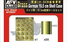 AFV af35097 1/35 German 10.5cm Brass shell Cases