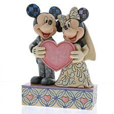 Two Souls, One Heart Mickey & Minnie Wedding Figurine