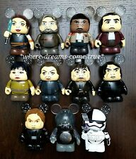 "Disney Vinylmation 3"" Star Wars Series 8: ""The Last Jedi"" Set of 11 (NEW)"