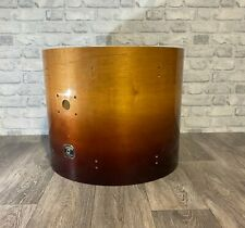 """More details for gretsch catalina maple bass drum shell 22""""x18"""" bare wood project / upcycle"""