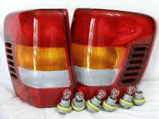 For 02-04 Grand Cherokee Rear Tail Light Lamp RL H W/6 Light Bulbs/Sockets NEW