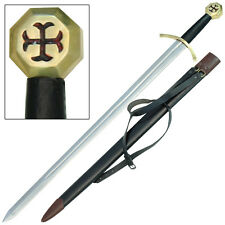 Poor Knights Order Templar Crusader Medieval Longsword Sword