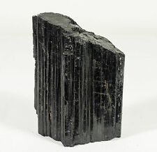 Natural Black Tourmaline Quartz Crystal Specimen from Brazil