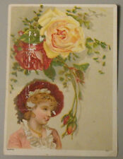 1800'S VICTORIAN TRADE CARD BUFFORDS SON LITHOGRAPHIC CO 39 FEDERAL ST BOSTON MA