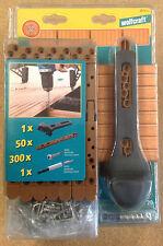 Wolfcraft Terrassenbau Starter- Set 50 Verbinder/ 300 Schrauben... 6971000