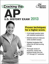College Test Preparation: Cracking the AP U. S. History Exam, 2013 Edition by P…