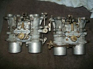 BMW 1600 2000 2002 Ti Solex 40mm PHH carburetors
