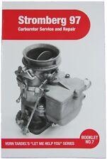 STROMBERG 97 CARBURETOR SERVICE AND REPAIR BOOK FLATHEAD V8 VINTAGE RAT ROD T M