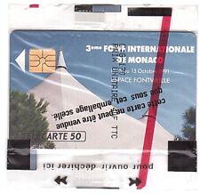 Monaco - Chip Phonecard - MF18 - Ficomias 3ème Foire - Mint/Neuve NSB