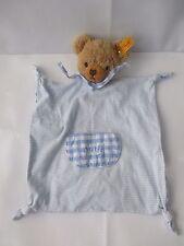 STEIFF BLUE BEAR BABY COMFORTER No. 237041