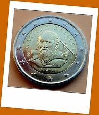 2 Euro Gedenkmünze Italien 2014 - 450. Geburtstag von Galileo Galilei - Neu