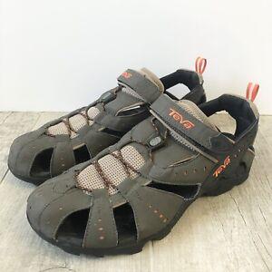Teva Dozer 6704 All Terrain Brown Hiking Sandals Hook and Loop Men's Size 13
