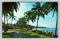 San Juan PR, Greetings The Dorado Beach Hotel Chrome Puerto Rico c1964 Postcard