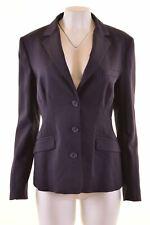 GIANFRANCO FERRE Womens 3 Button Blazer Jacket IT 48 Large Purple Wool  MT09