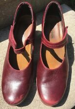 NAOT Heels Shoes Red Size 38 L7 US 7-7.5