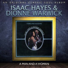 Isaac Hayes & Dionne Warwick : A Man and a Woman CD (2012) ***NEW***