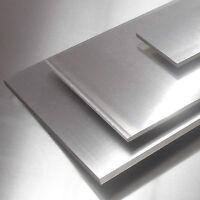 Aluminium Platte 250x120x5mm AlMg3 5754 Alu Blech seewasserbeständig (30,- €/m)