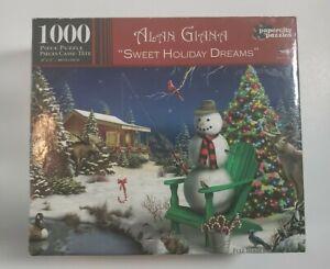 2014 SWEET HOLIDAY DREAMS by Alan Giana a U.S.A.1000 Piece Jigsaw Puzzle