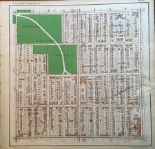 1925 KANSAS CITY MISSOURI SPRING VALLEY PARK ATLAS MAP
