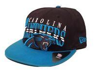 NEW ERA 9 FIFTY NFL CAROLINA PANTHERS FOOTBALL MENS NEW ERA SNAPBACK HAT CAP