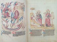 BIBLIA PAUPERUM Facsimile of the Codex Palatinus Latinus 871 in Vatican Library