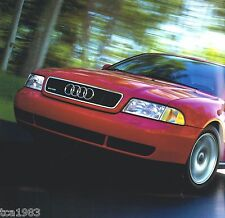 1997 AUDI Brochure / Catalog: A4,A6,CABRIOLET,A8,Station Wagon,Convertible