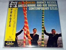 The Poll Winners - S/T (1957) JAPAN Mini LP CD (2006) NEW Barney Kessel