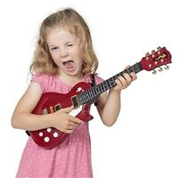 Rock Guitar - Electric Musical Fun Indoor Instrument Play Band