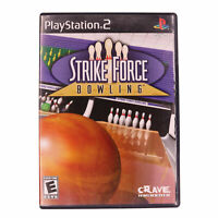 Strike Force Bowling PlayStation 2 PS2 Complete