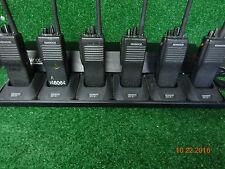 Kenwood TK290 TK-290 VHF 146-174 160ch 5watt Radios w/ 6 pack Gang charger