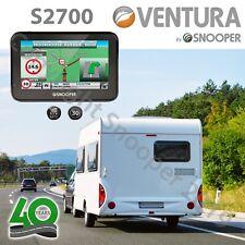 "Snooper Ventura S2700 4.3"" Sat Nav Motohome Caravan EU Maps Satellite Navigation"