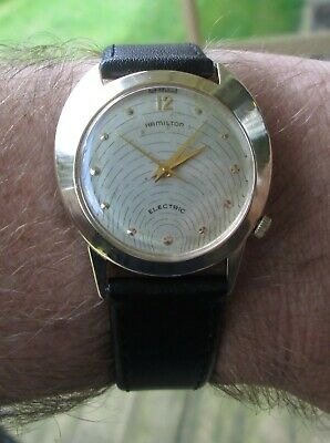 Vintage Hamilton Electric Spectra 14k Solid Gold - Serviced - Ready to Wear
