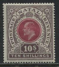 Natal KEVII 1902 10/ mint o.g.