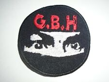 GBH STREET/PUNK IRON ON EMBROIDERED PATCH