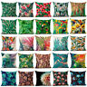 Floral Tropical Plant Leaf Cushion Cover Throw Pillow Case Home Sofa Decor Yc
