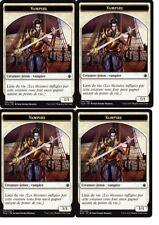 MTG Magic Ixalan  - Vampire n°1 X4 - Token / Jeton  VF