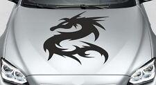 Motorhaubenaufkleber Aufkleber Auto Car Style Tattoo ASIA Dragon Drache 43