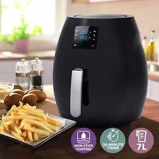 7L Large Air Fryer Digital Display Low Fat Oil Free Rapid Healthy Deep Cooker