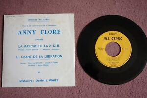 ANNY FLORE / CHANTE La marche de la 2e D.B & Le Chant Des Partisans /