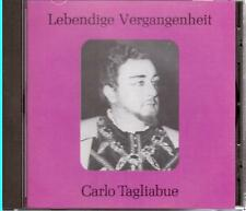 Carlo Tagliabue: Lebendige Vergangenheit - CD