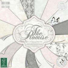 First Edition 12x12 papel-la promesa-Cardmaking Scrapbooking Pack Completo