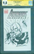 Avengers 1 Variant CGC SS 9.8 Saviuk Ant Man Original art sketch Infinity War