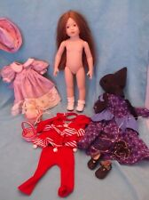 "Magic Attic 19"" Doll-Heather-w/ 3 Outfits"