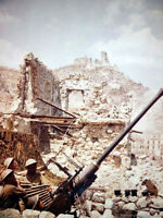 7x5 Gloss Photo ww4583 World War 2 II WW2 Artillery 30