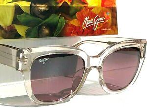 NEW* Maui Jim SIREN SONG Pink Crystal Polarized ROSE Women Sunglass R801-05B