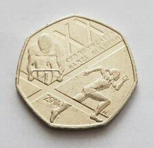 2014 Commonwealth Games Glasgow 50p Coin