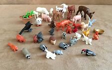 Playmobil Animal lot farm countryside pig goat sheep deer bird owl vegetables
