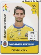 N°277 M'SILA # MOROCCO WAASLAND-BEVEREN MOUSCRON STICKER PANINI PRO LEAGUE 2015