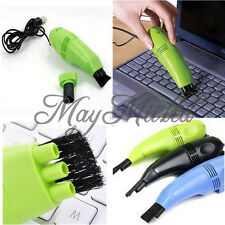 New Mini USB Vacuum Keyboard Cleaner Dust Collector LAPTOP Computer Sales L ゃ