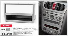 CARAV 11-419 1Din Marco Adaptador de Radio OPEL Agila Astra Corsa Vectra Omega